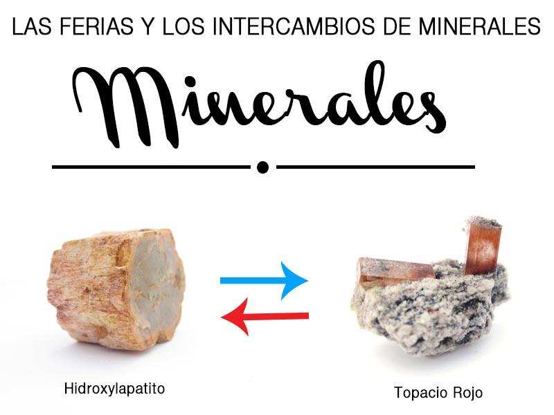 las ferias e intercambios de minerales