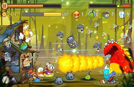 لعبة هجوم المستنقع Swamp Attack