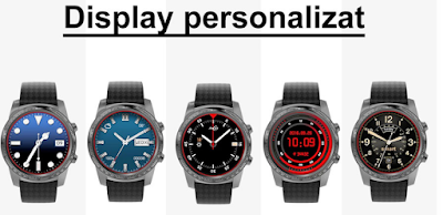 Smartwatch AllCall1 Grey -display personalizat cumpara aici
