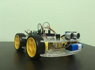 Obstacle Avoiding Robot by Arduino and Ultrasonic sensor