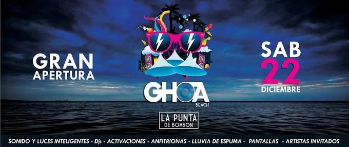 Apertura de GHOA Beach - Punta de Bombón