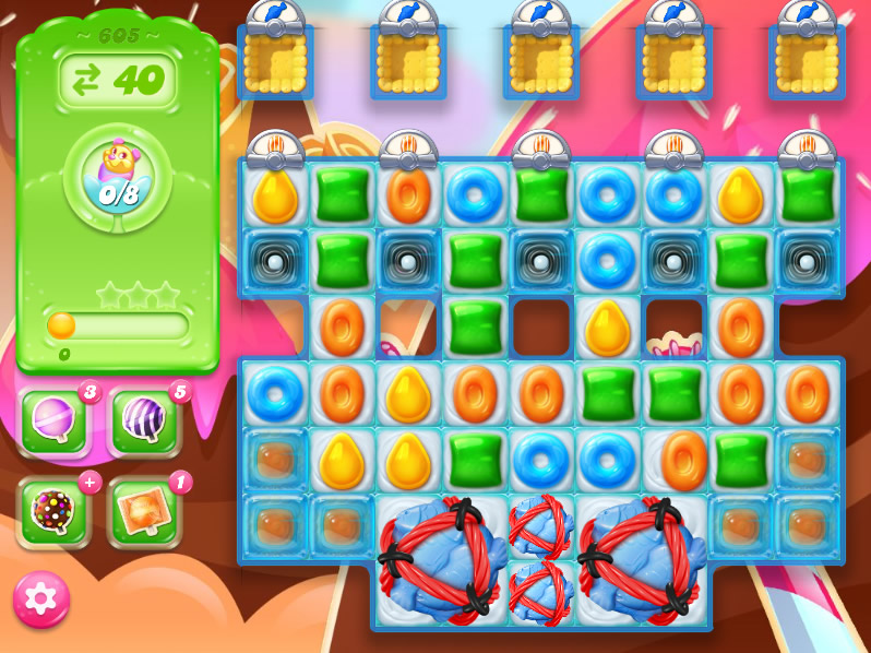Candy Crush Jelly Saga level 605