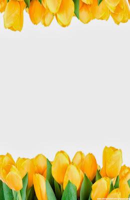 Invitación Elegante y Novedosa para Bodas Tulipanes Amarillos