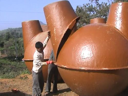 Some Biogas plant Diagram Photos ~ Biogas Plant (Anaerobic ...