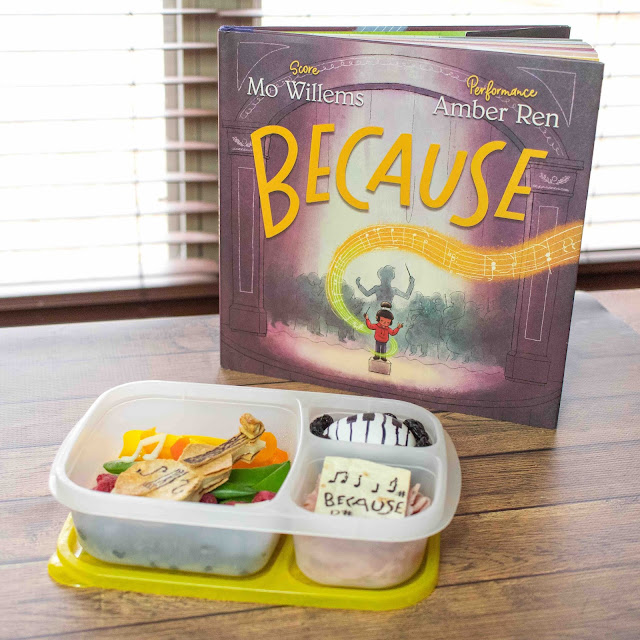Mo Willems Because Book Musical Lunch Box Recipe Ideas!