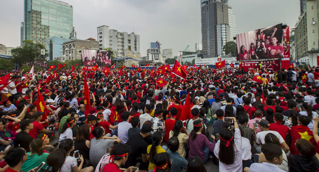 Hàng triệu người chào đón đội U23 Việt Nam về nước sau giải đấu U23 Châu Á