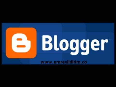 blogger hataları ve çözümü