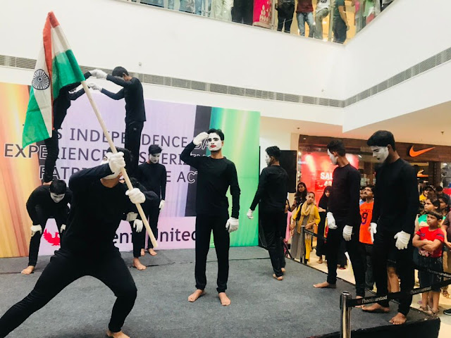 Special Mime Act at Phoenix United Mall (pr)