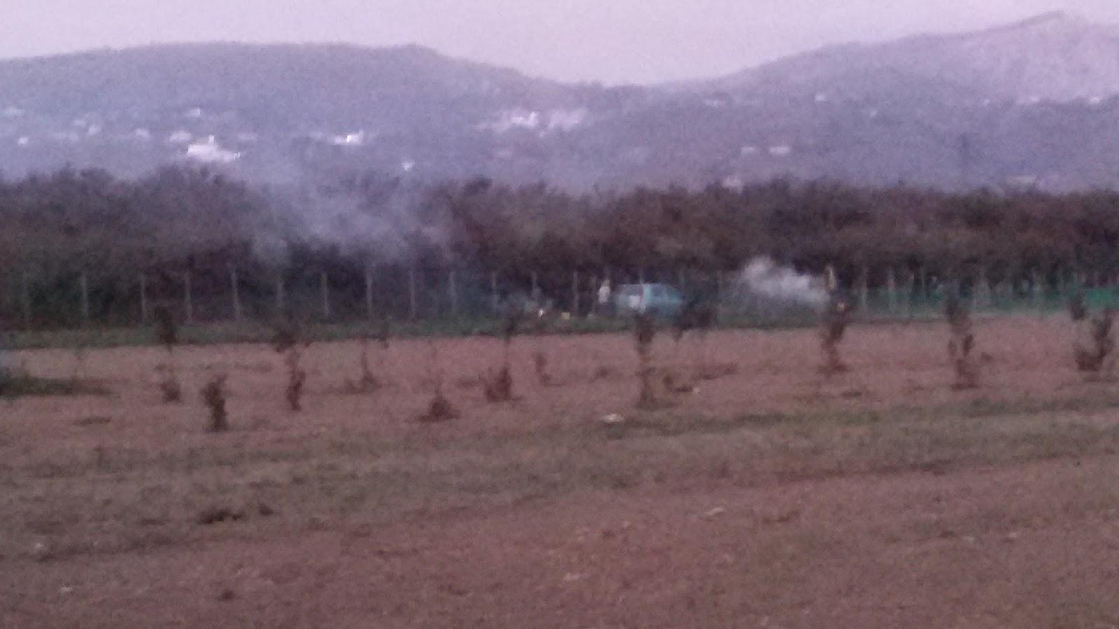 Affumicatori di Montoro inquinano l'aria