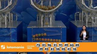 Resultado da Lotomania - Concurso nº 2036 - 03/01/2020