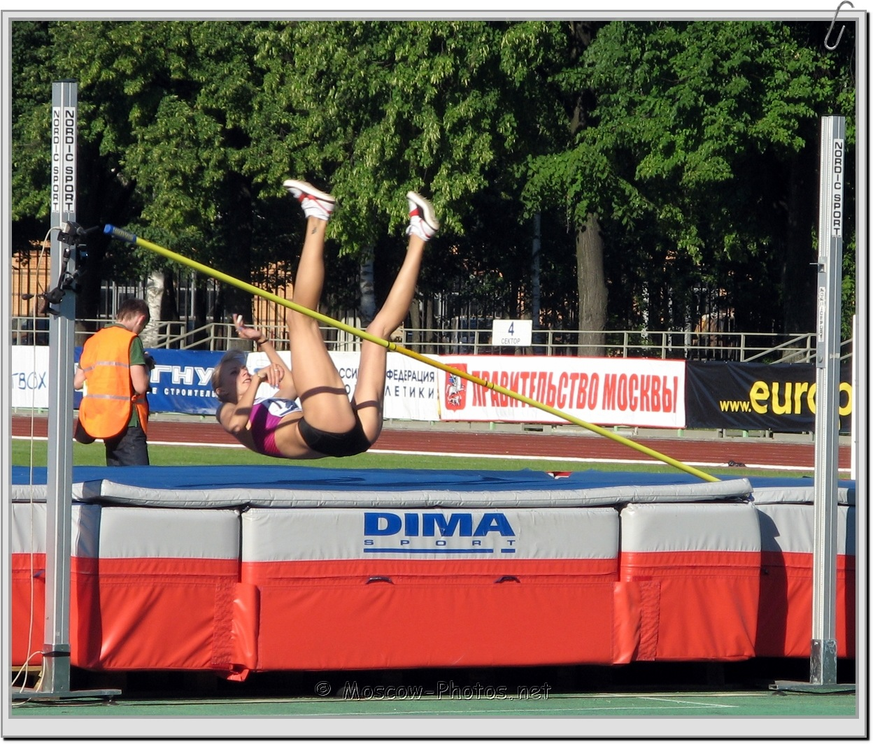 Unsuccessful Attempt In High Jump