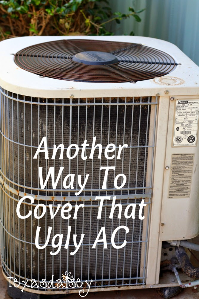 Another way to cover that ugly AC