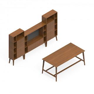 Mid Century Modern Office Furniture