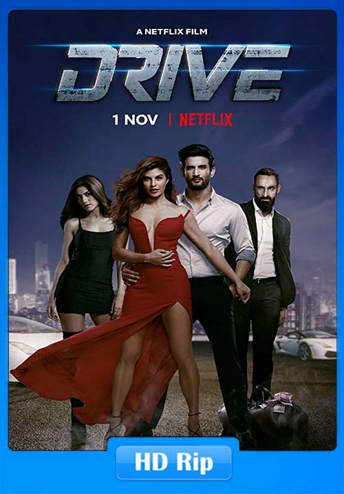 Drive 2019 Hindi 720p HDRip ESub x264 | 480p 300MB | 100MB HEVC