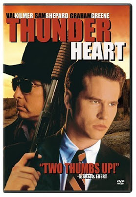 Thunderheart 1992 Hindi Dual Audio 720p HDRip 1GB , hollywood movie Thunderheart 1992 hindi dubbed dual audio hindi english languages original audio 720p BRRip hdrip free download 700mb or watch online at world4ufree.be