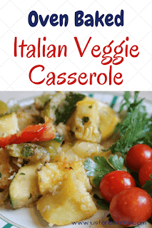 Oven Baked Italian VegetableCasserole