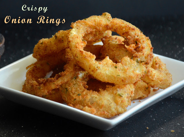 Onion Rings by veggierecipehouse