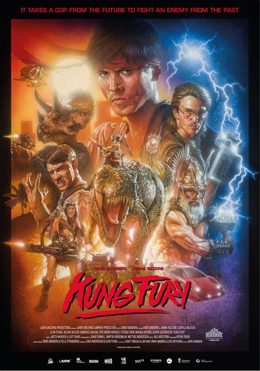 Kung Fury 2015 - Full (HD)