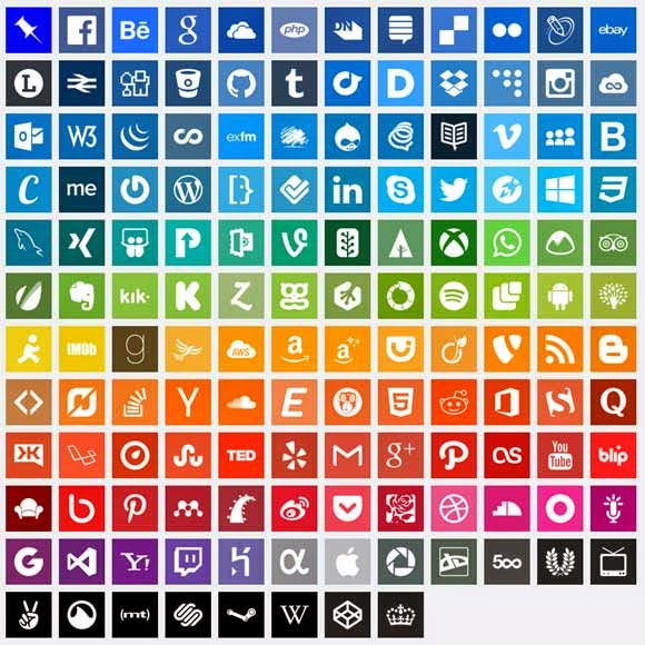 140 Simple Icons