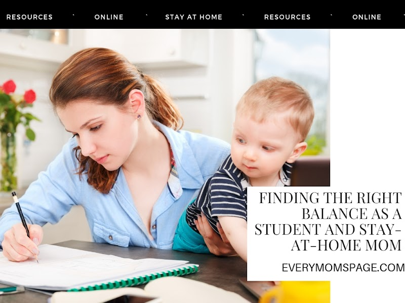Finding the Right Balance as a Student and Stay-at-Home Mom