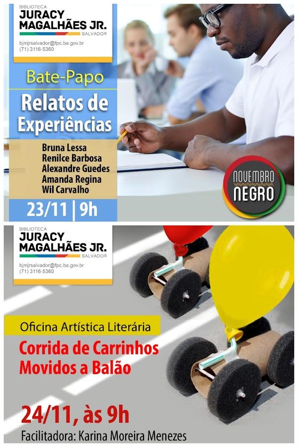 Programação Cultural da Biblioteca Juracy Magalhães Jr.