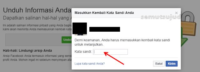 Cara download semua data dan foto di facebook Cara download semua data dan foto di facebook