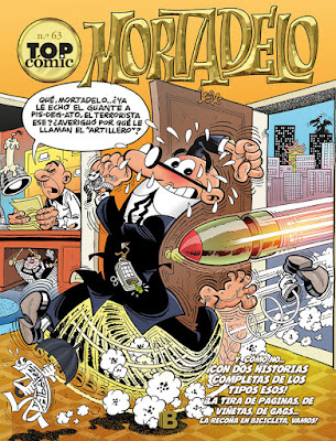 Top Cómic nº 63 Mortadelo. La Estatua de la Libertad