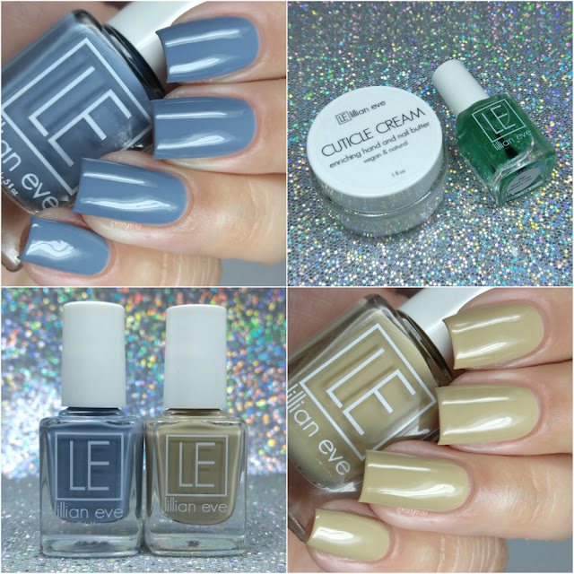 Lillian Eve - Before Sunrise & Nothing But Nude Swatches