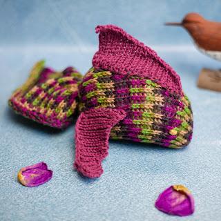 Loom Knit Fish Toy