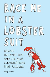race me in a lobster suit cover