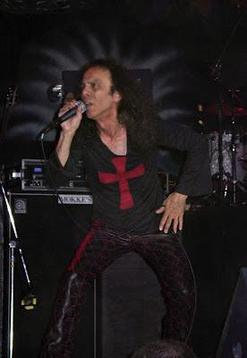 Ο τραγουδιστής Ronnie James Dio