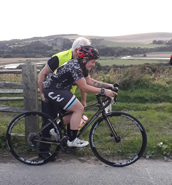FitBits | My first hill climb Time Trial - Brighton Mitre cycling club - Tess Agnew fitness blogger