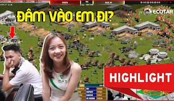 AoE Highlight | Y Thủ Che Thiên và màn ĐÂM Y đỉnh cao Chim Sẻ