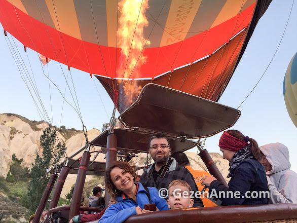 Kapadokya Balloons ile balon turumuz başlarken