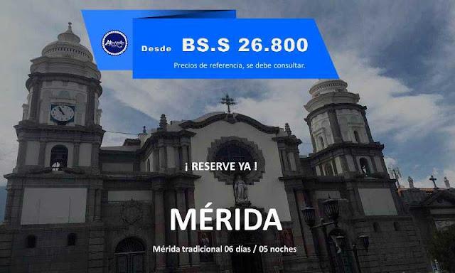 IMAGEN Mérida tradicional 06 días / 05 noches