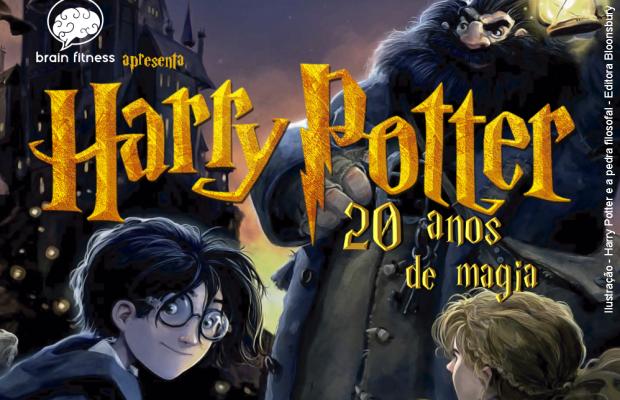 J.K.Rowling celebra os 20 anos de 'Harry Potter'