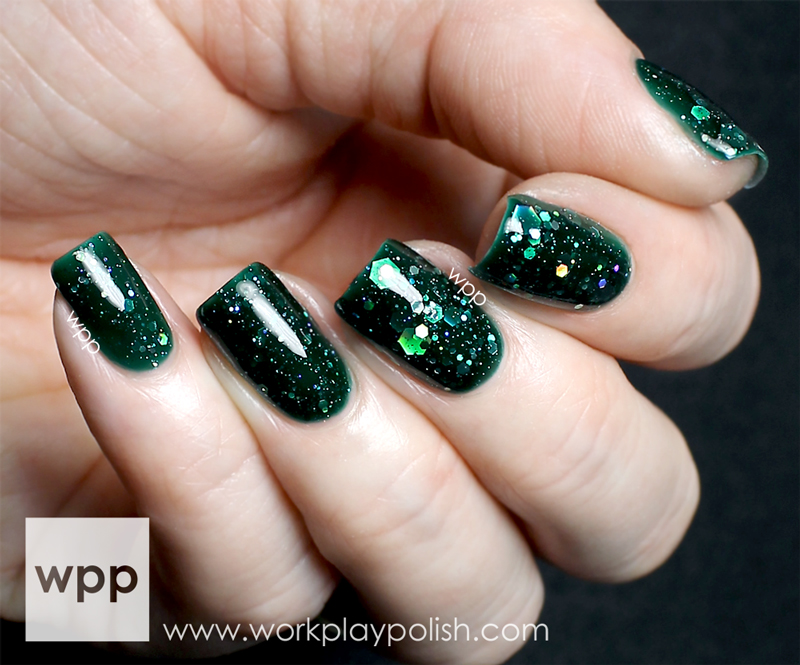 KBShimmer Kayla Shevonne Green Hex and Glam