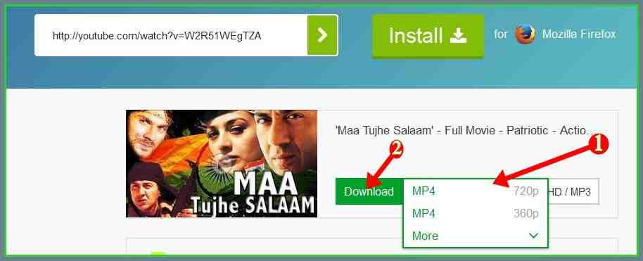 how to download youtube vedeo without any downloader softwer