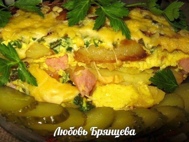 картофельная запеканка пошагово