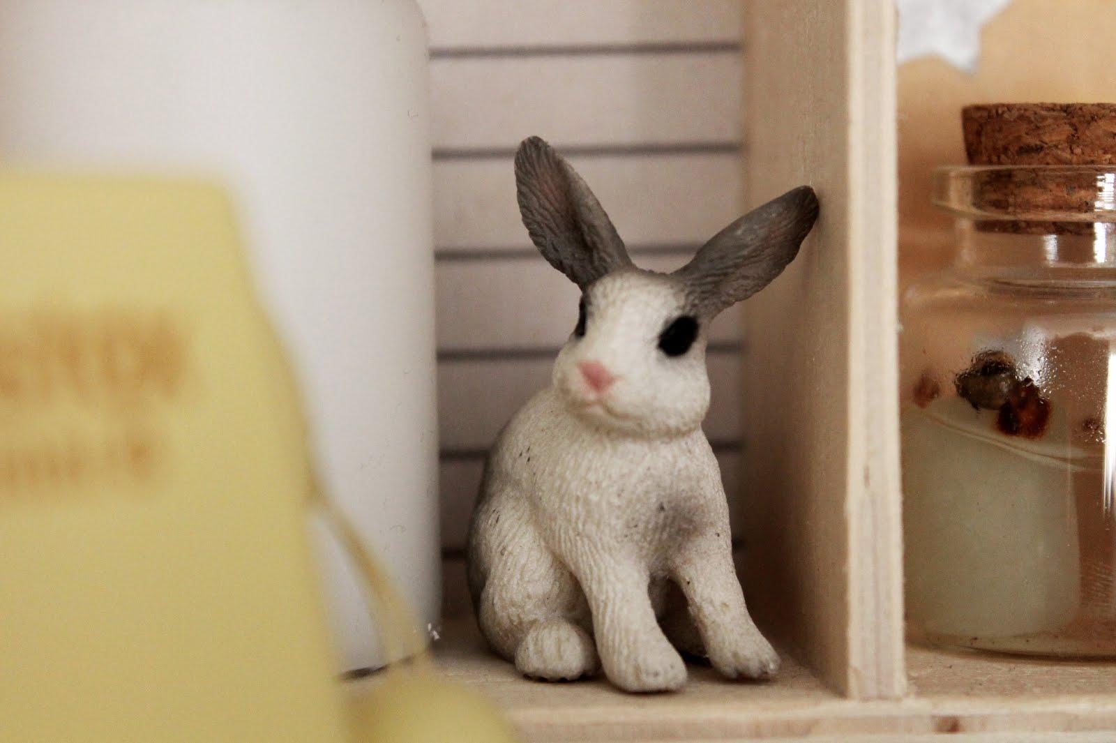 juguete animales scheleich conejo