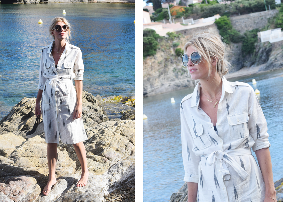 Outfit of the day, Sergio Rossi, Fabric Hunted & Collected, Chloé, Dewolf, ootd, style, fashion, blogger, summer, maternity, pregnant
