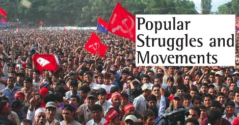 mobilisation and organisation in nepal and bolivia