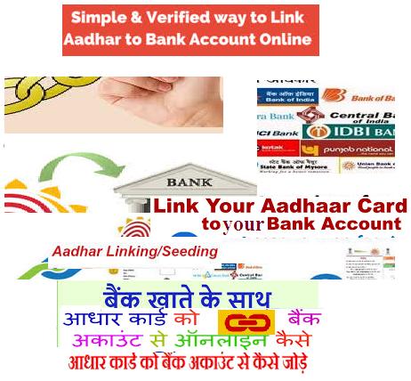 Check Aadhaar & Bank Account Linking Status
