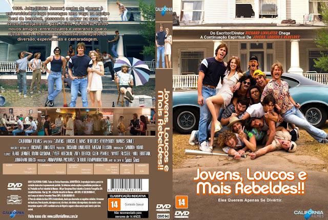 Capa DVD Jovens Loucos E Mais Rebeldes
