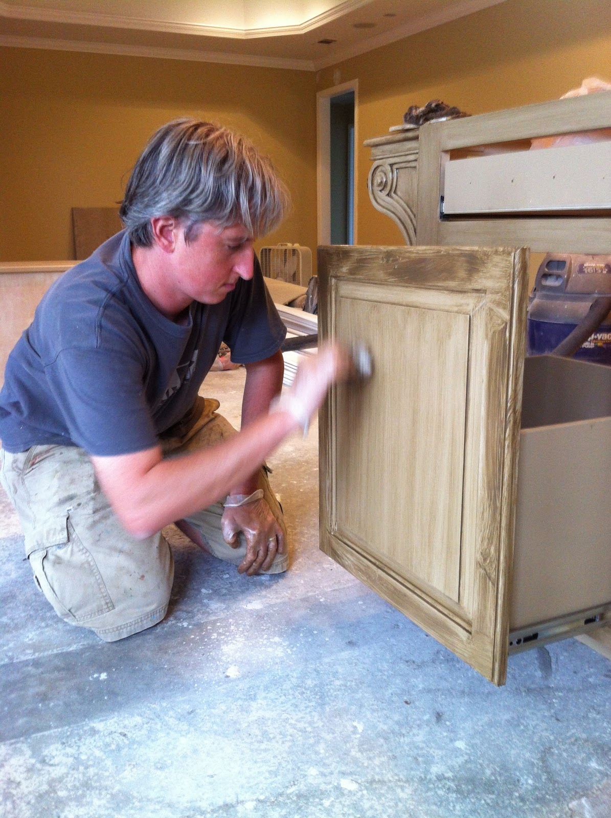 mixed kitchen cabinets in the glazing cabinets with chris walker 4174