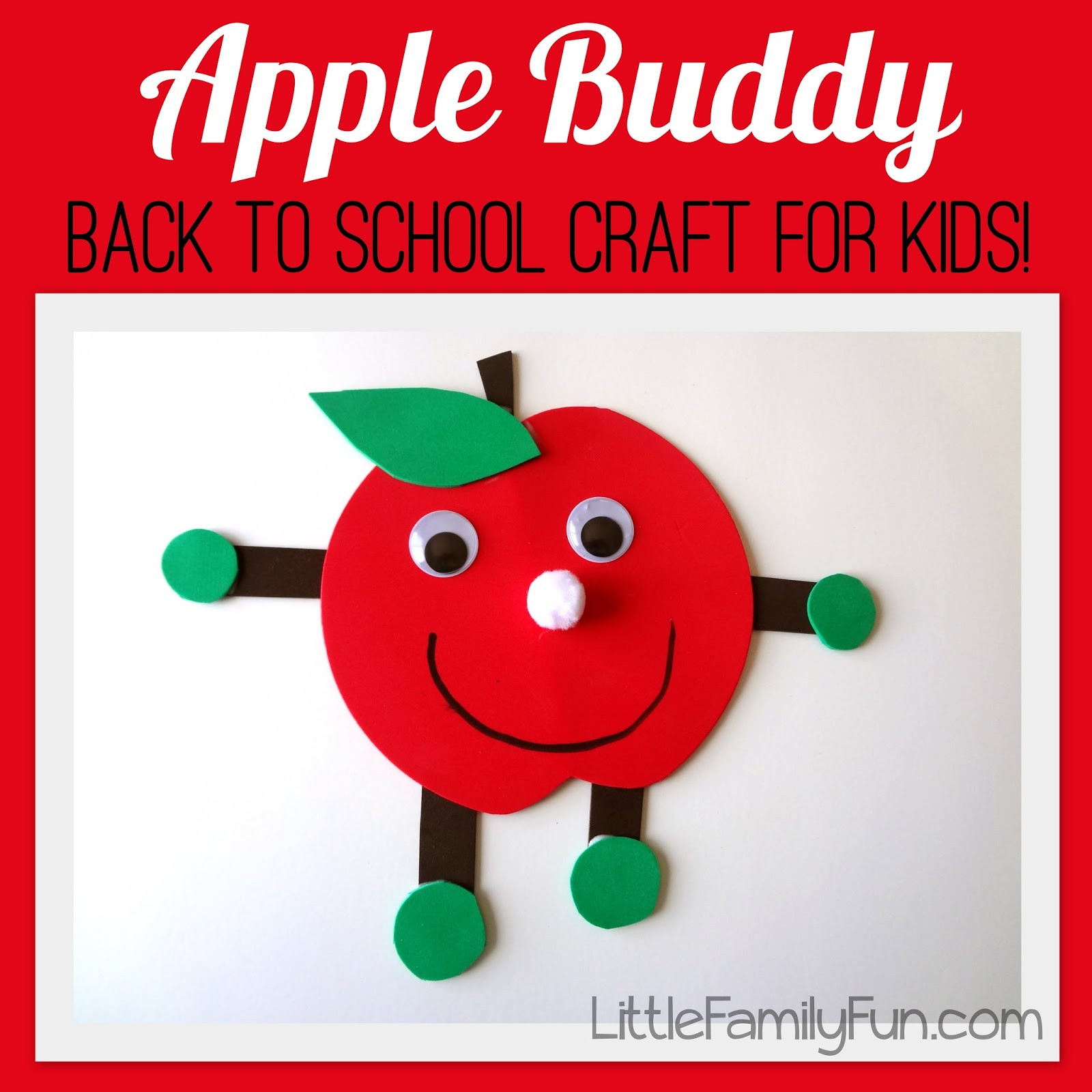 Little Family Fun Apple Buddy