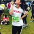 Kajal Aggarwal at Mumbai Marathon