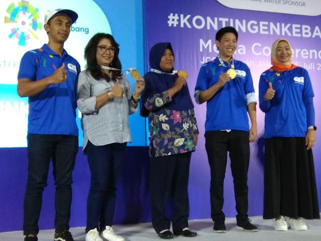 Danone-AQUA Kampanyekan Kontingen Kebaikan Dalam Ajang Asian Games 2018