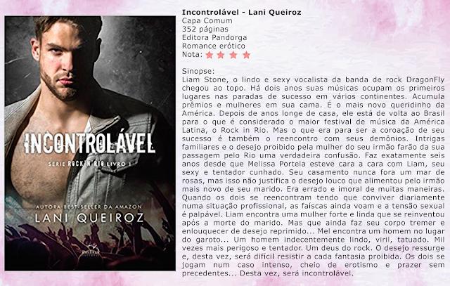 Incontrolável - Série Rock I'm Rio #01 - Lani Queiroz