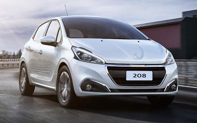 Peugeot 208 - 8º carro mais vendido do Brasil no 1º dia útil de fevereiro de 2019
